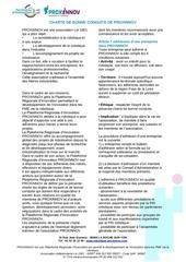 Fichier PDF charte de bonne conduite