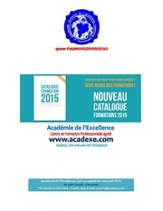 catalogue de formations acadexe 2015