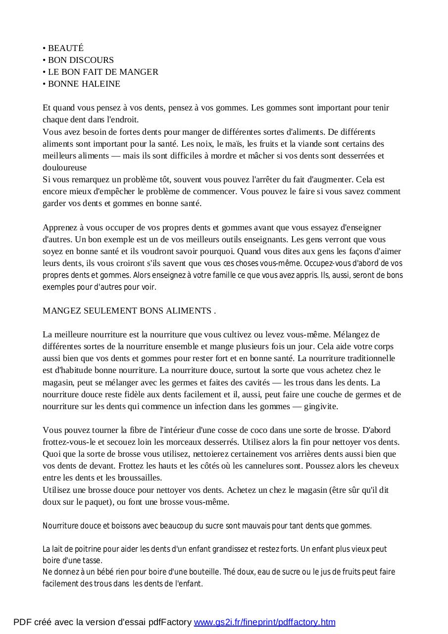 Là ou il n_y a pas dentiste Traduction Fr .pdf - page 4/106