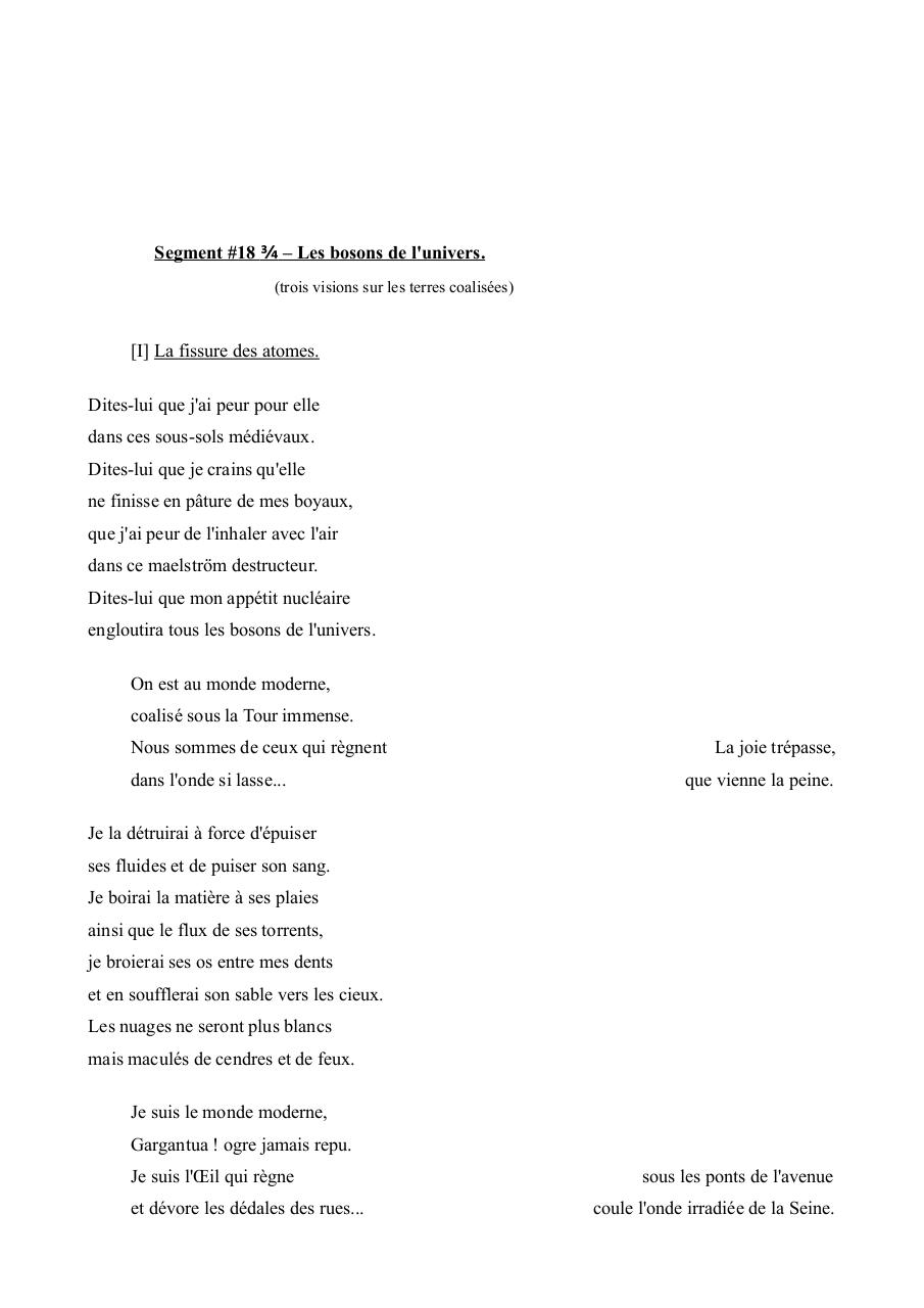 Aperçu du document Segment #18.75 – Les bosons de l'univers.pdf - page 1/5