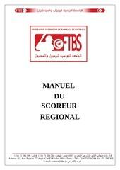manuel du scoreur regional
