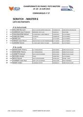 masters 6 scratch