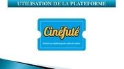 Fichier PDF utilisation de la plateforme cinefute