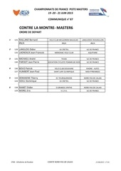 masters 6 clm
