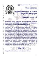 acte daccusation ordonnance espagnole