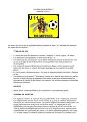 regles du jeu u11