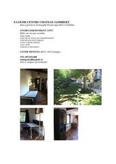 Fichier PDF a louer centre chateau gombert