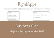 Fichier PDF business plan rightapps