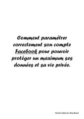 Fichier PDF cdi cours facebook