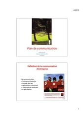 cours plan de communication 201 5