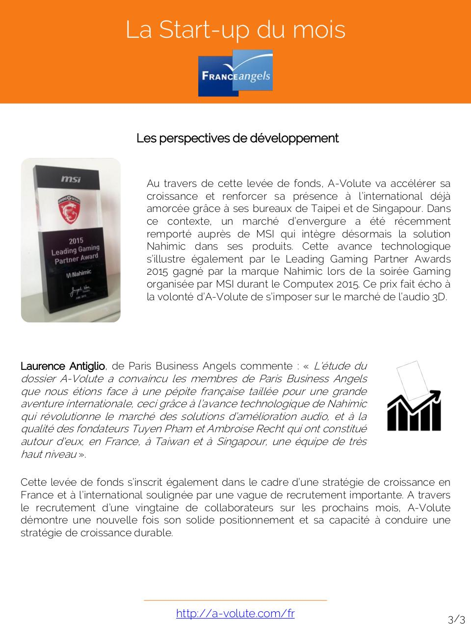 Aperçu du document Start-up à l'honneur Juin 2015.pdf - page 3/3