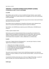 15 06 11 short edition annonce stagiaire bizdev
