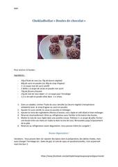 choklatbollar
