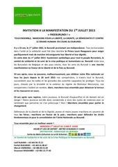 invitation a la manifestation 01 juillet 2015 bxl 1