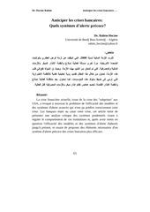 Fichier PDF article anticiper les crises bancaires revue ssh batna