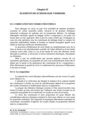 Fichier PDF chapitre iielements de echnologie verriereii 1 fabrication des verres industriels