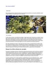 Fichier PDF medicament contre dependance cannabis
