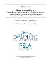 Fichier PDF memoire theorie ergodique