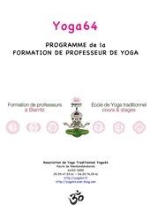yoga64 programmedetaille formationprofesseurs