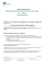appel propositions evaluation projet diamed vf