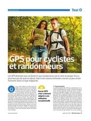 gps pour cyclistes et randonneurs fichier pdf