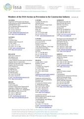Fichier PDF membres du comite international de l aiss construction