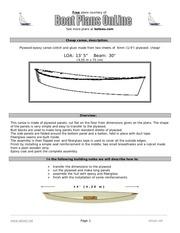 plan de fab canoe