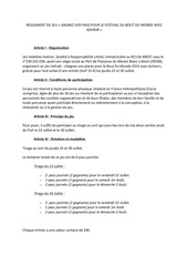 reglement du jeu bdm azenor 2