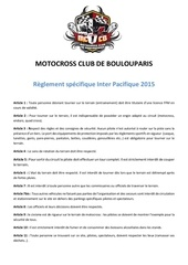 reglement inter 2015 mccb