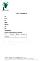 Fichier PDF fiche de renseignements