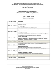 schedule international symposium num 14 15 july