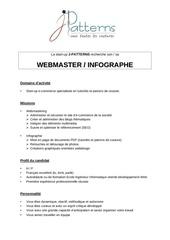 Fichier PDF webmaster infographe