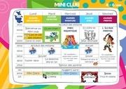 programme mini club 4 6 s2