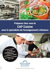 brochure cap cuisine