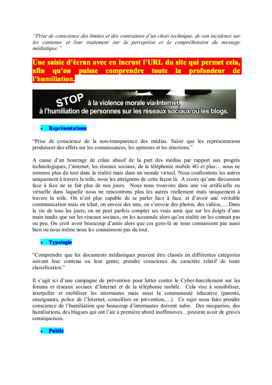 Aperçu du document Cyber humiliations.pdf - page 2/3