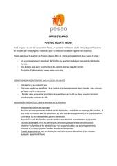 Fichier PDF annonce offre adulte relais