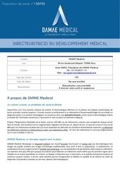 Fichier PDF damae medical direction developpement medical