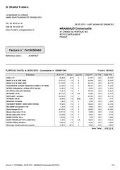 factures veterinaire florys