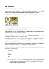 Fichier PDF lettre destinee aux magasins