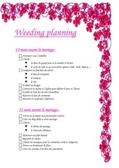 weeding planning