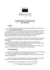 contrat general majeur
