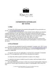 contrat general mineur