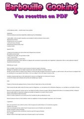 Fichier PDF flan