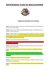 reglement inter mccb