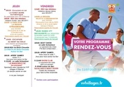 prog anim 11 au 18 juillet