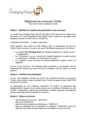 reglement jeu concours twitter
