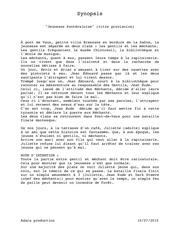 Fichier PDF synopsis jeunesse pdv