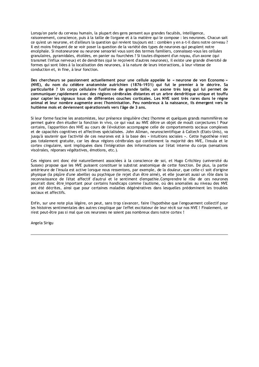 Aperçu du document Un neurone des intuitions sociales NVE.pdf - page 1/1