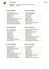 Fichier PDF calendario liga 20152016