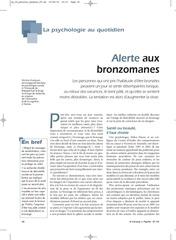 bronzomanie